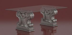 Zalone, Coffee table with stone capitals