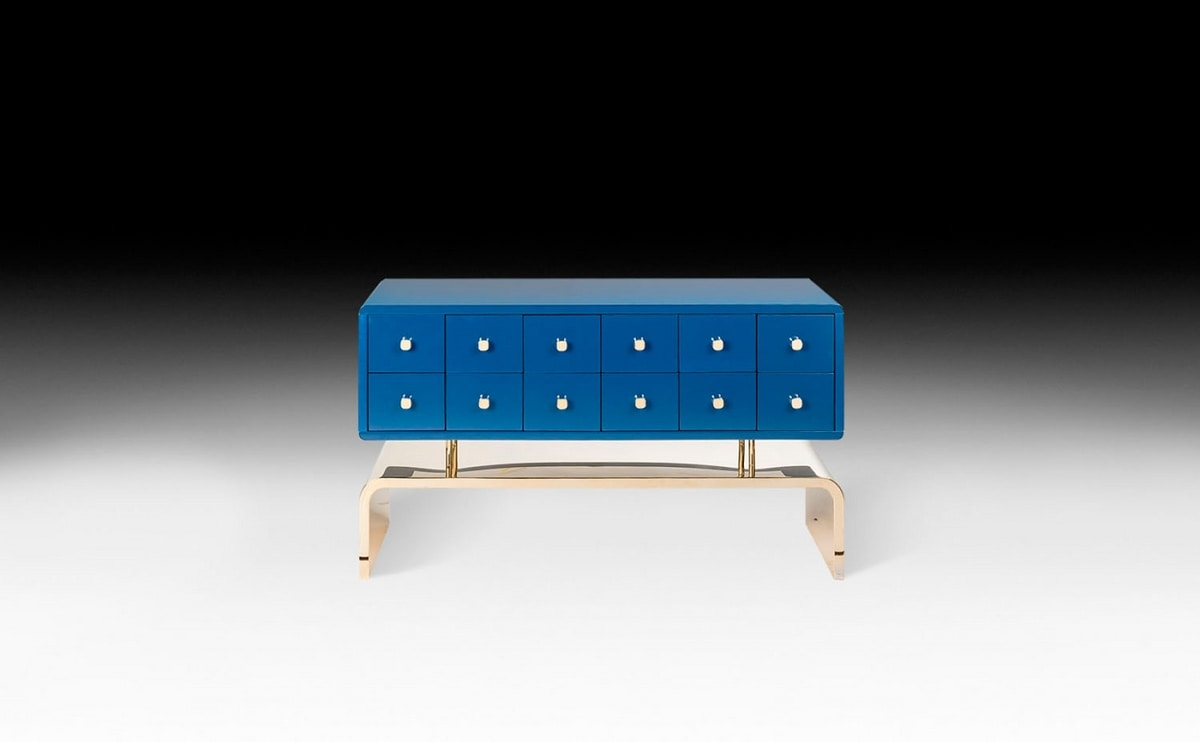 Auspicious Dresser, Wide and low chest of drawers