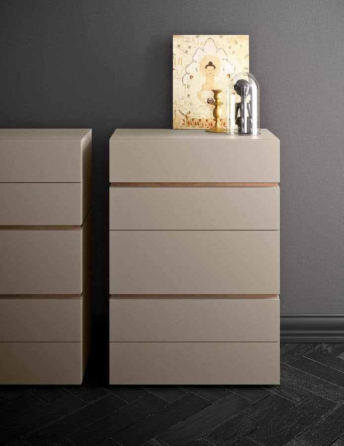 People, Nightstands of various sizes and finishings