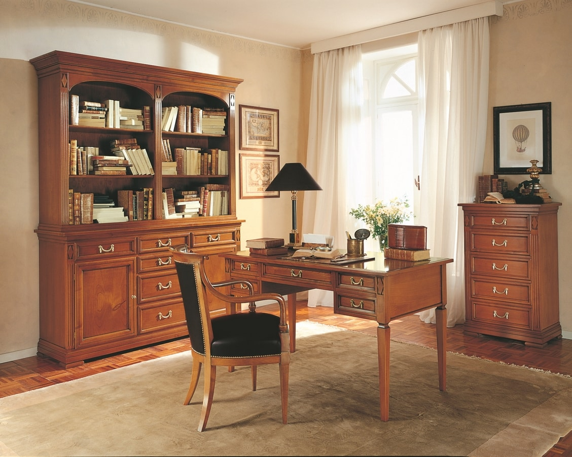 Villa Borghese chest of drawers 5372, Directoire style chest of drawers