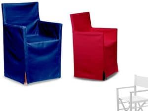 RE 2, Removable covering for folding chair, for catering