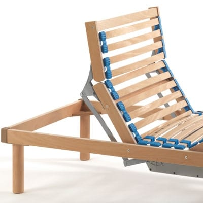 Maggiore electric, Slatted bed base with electric adjustment