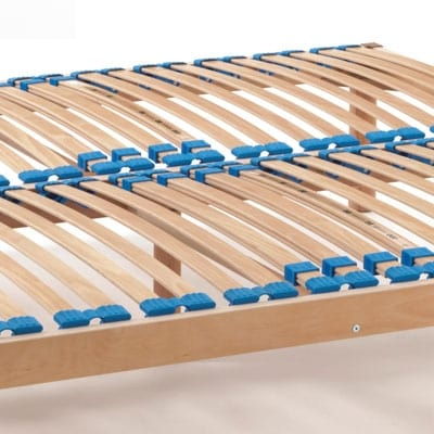Maggiore fixed, Slatted base in wood.