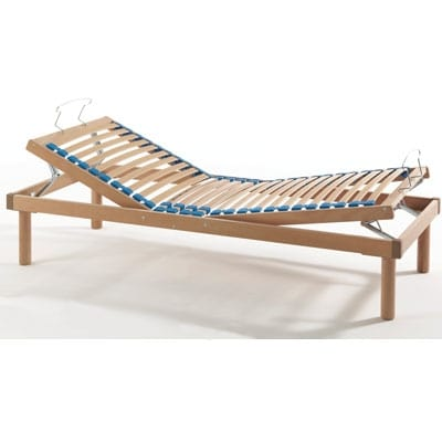 Maggiore manual, Slatted bed base manually adjustable
