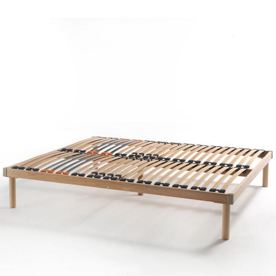 Olympia, Network with wooden slats