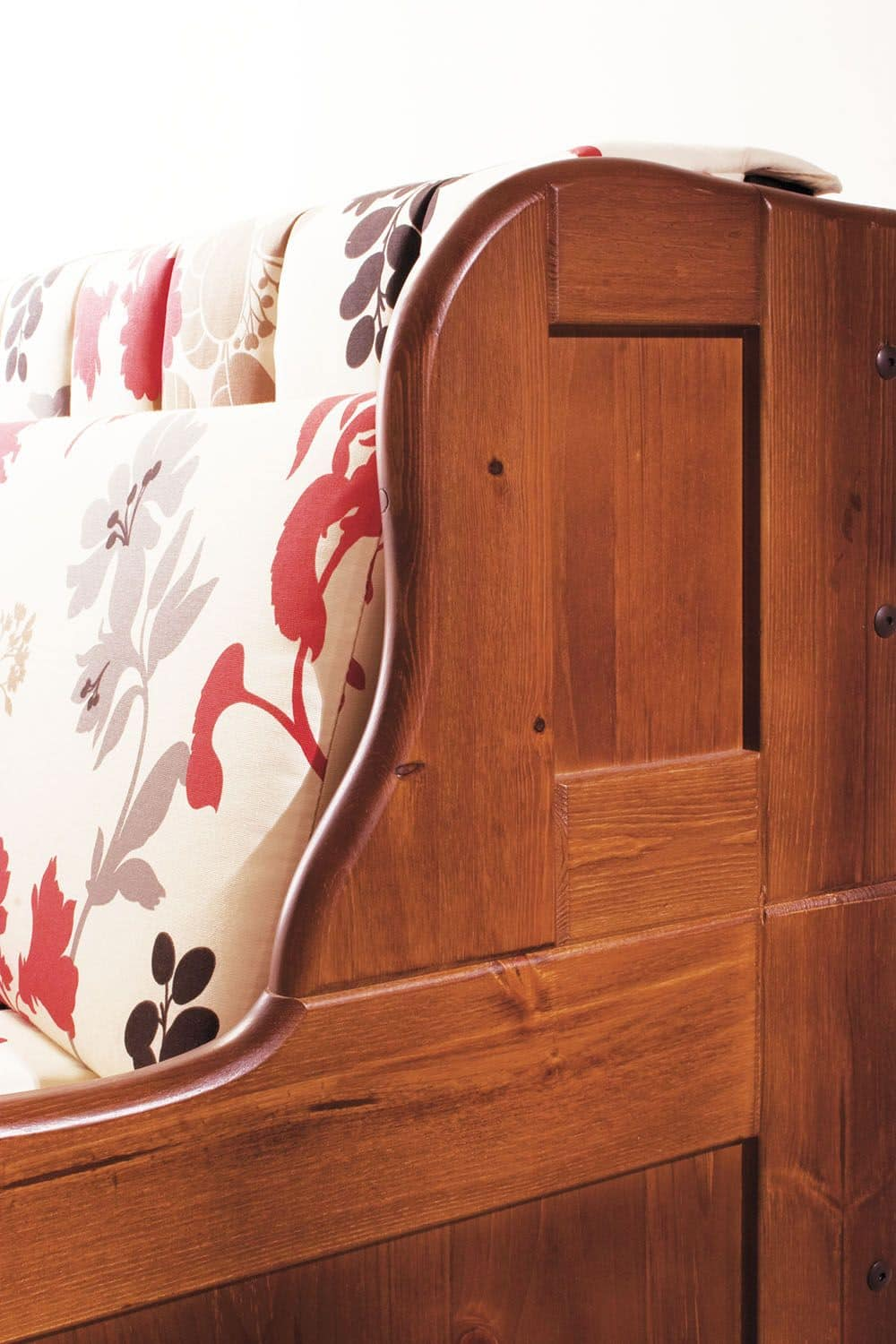 Arcimboldo, Sofa bed with removable covering, rustic style