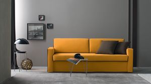 Argo, Sofa bed, upholstered in fabric