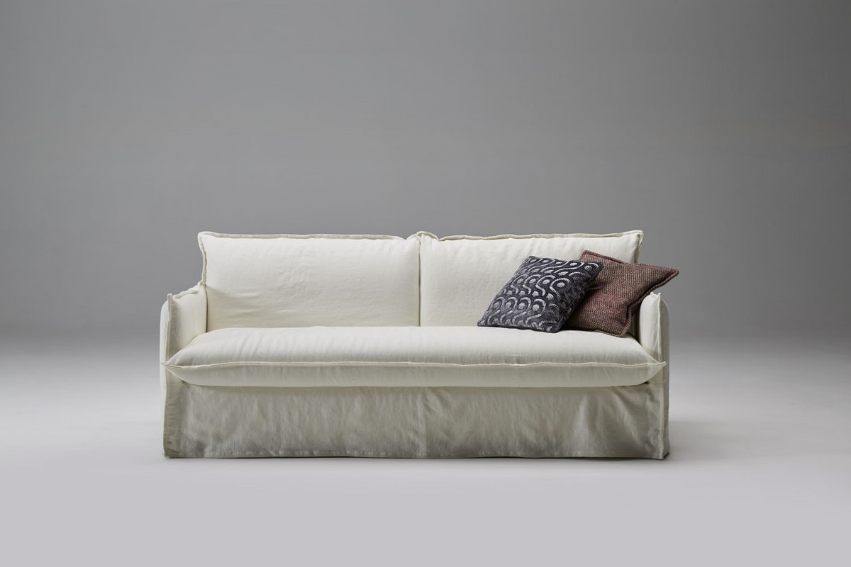 Clarke, Soft and informal sofa bed