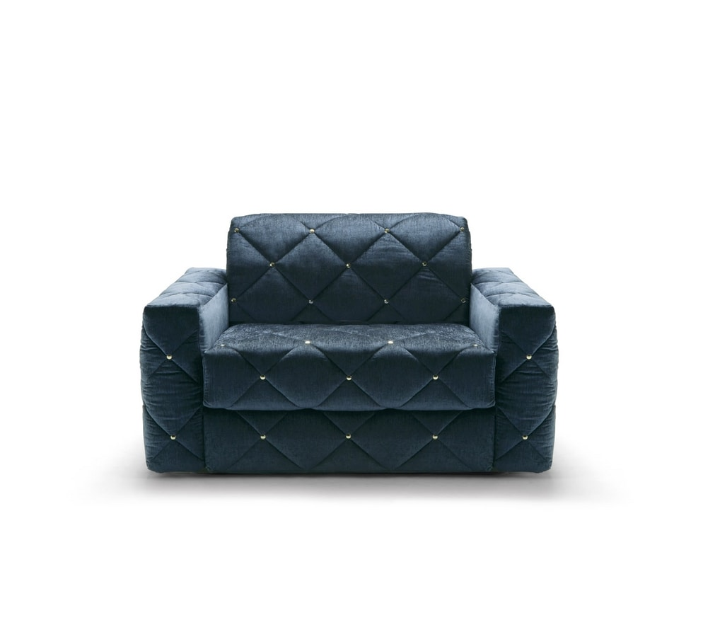 Douglas, Sofa bed with removable quilted cover