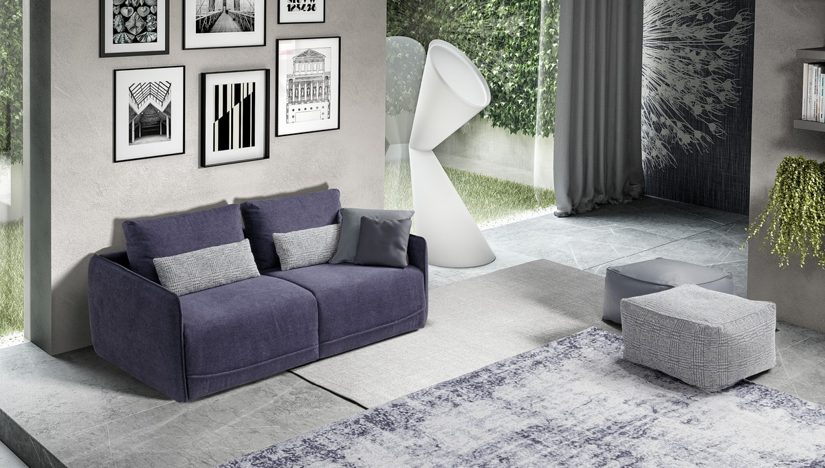 Duo, Compact design sofa bed