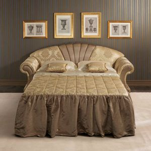 Fantasia sofa bed, Sofa bed in neoclassical style