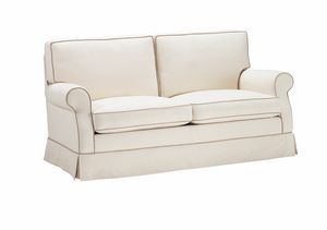Franca, Sofa with high backrest, also available as sofa bed