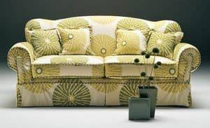 Ginger transformable, Classic style sofa-bed