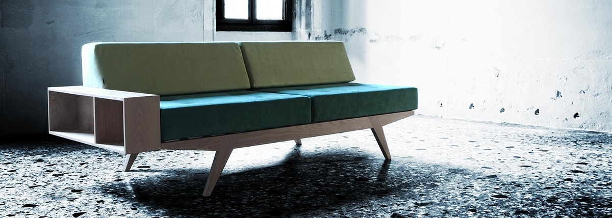 Giò 2241, Wooden sofa bed
