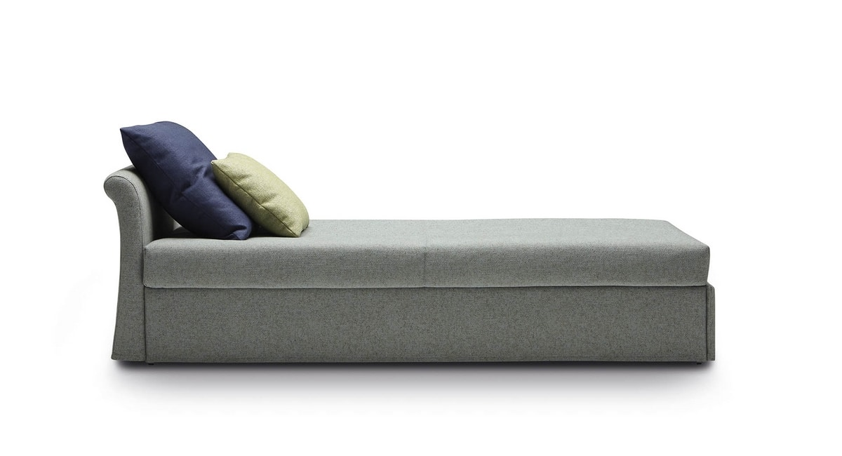 Jack Classic, Convertible sofa, with a classic design
