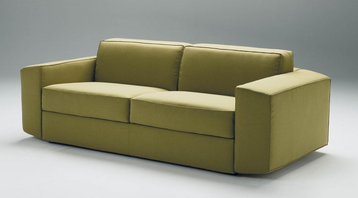 Melvin, Modern sofa, convertible into a bed