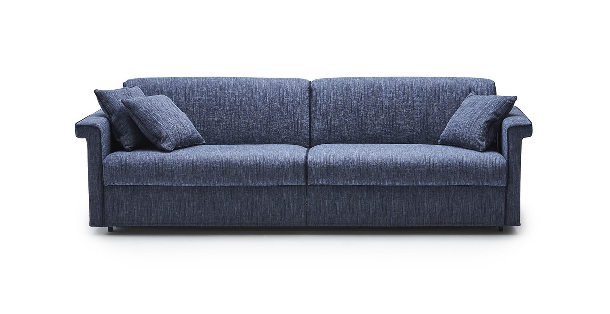 Michel, Sofa bed with simple lines