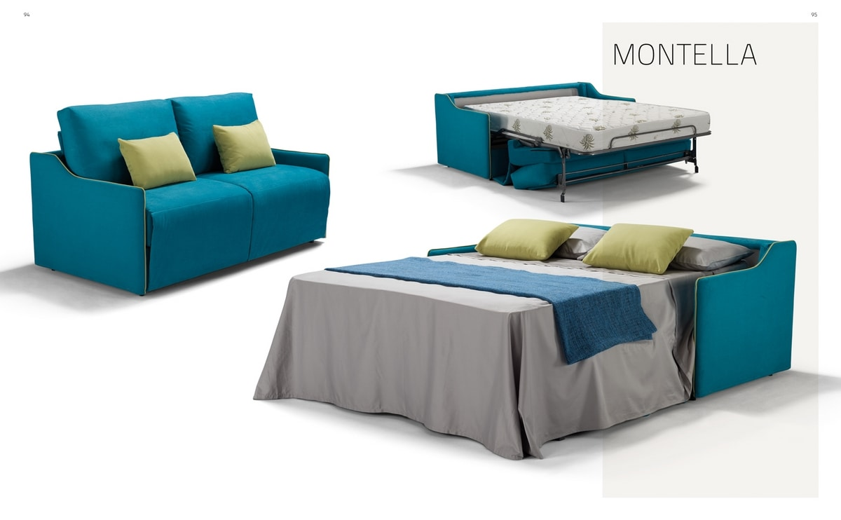 Montella, Sofa bed with a young line
