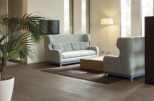 Morgan, Sofa bed with Art Deco design