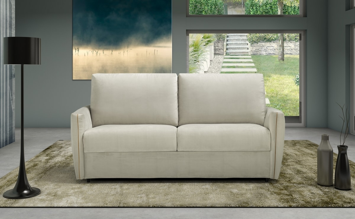Natan, Sofa bed with slender lines