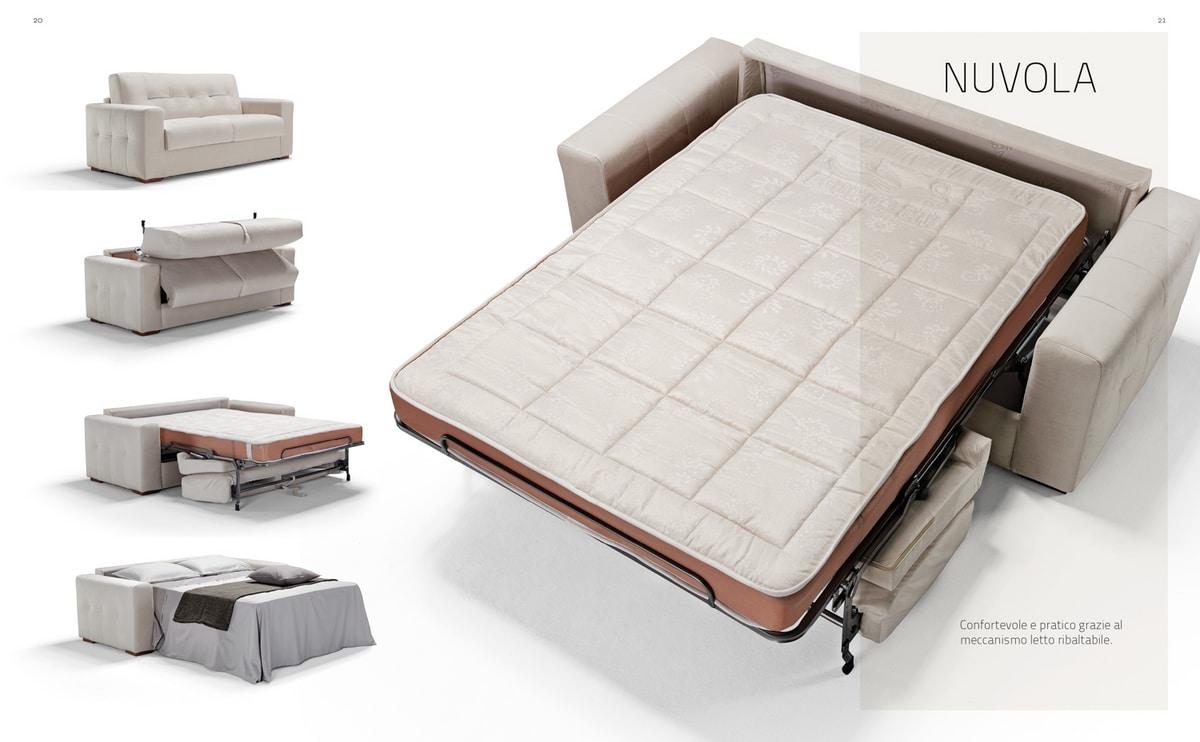 Nuvola, Sofa convertible into bed
