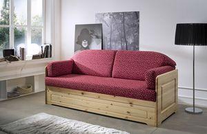 Sara, Rustic style sofa bed