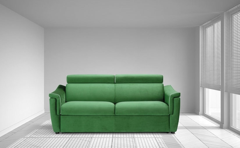 Stella, Sofa bed with practical mechanism