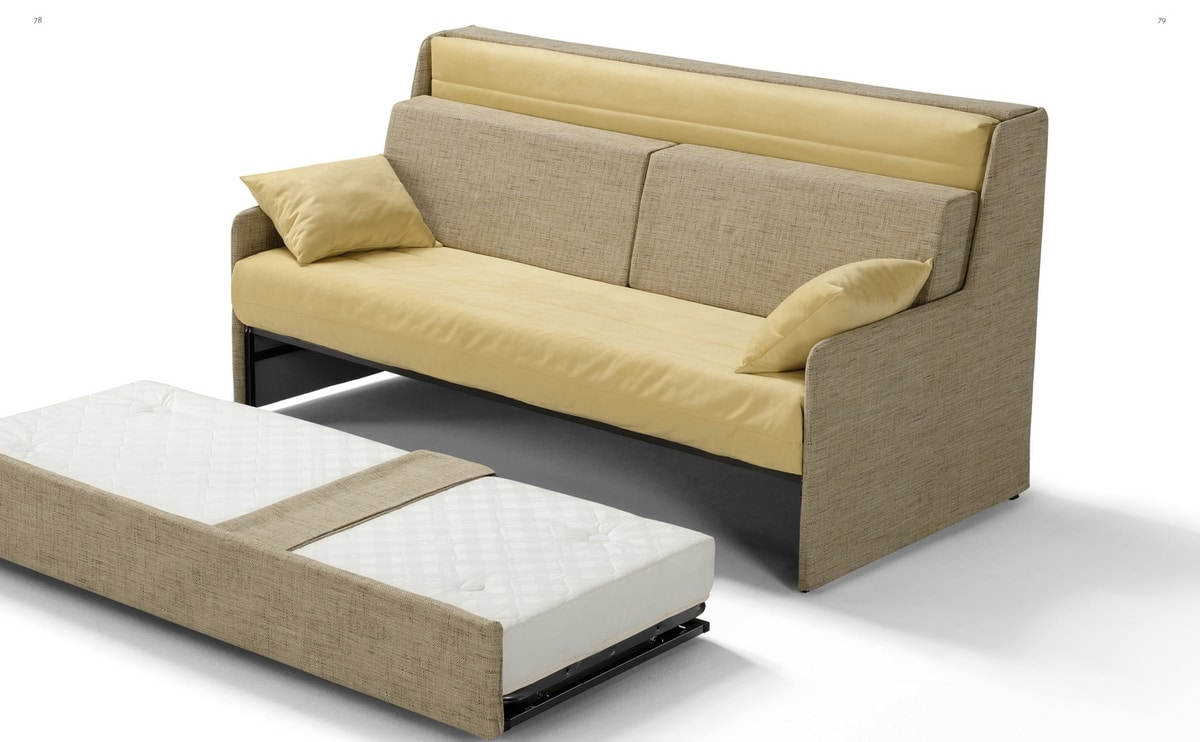 Tris, Sofa bed with triple functionality