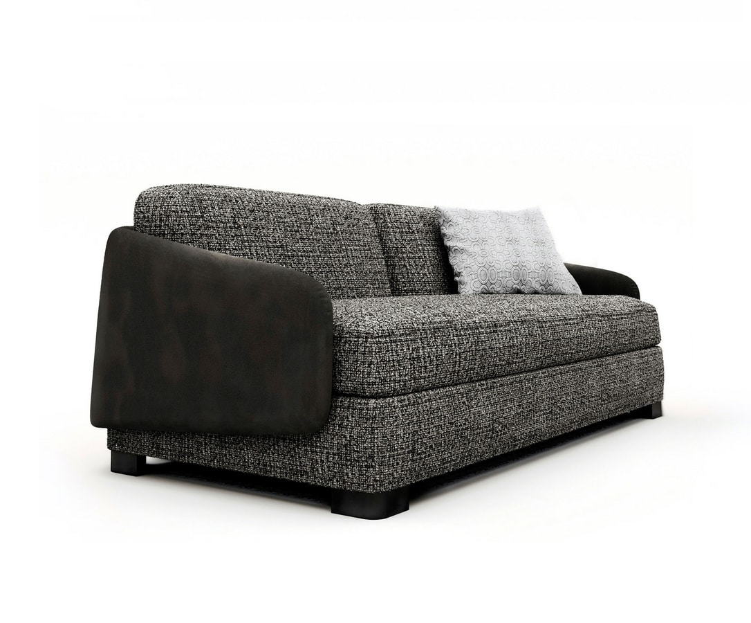 Vivien, Sofa bed with removable upholstery