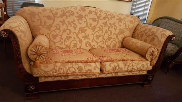 2880 SOFA, Classic sofa with floral fabric, discounted price