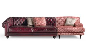 6701 Collage/2, Modular sofa, with an alternative classic design