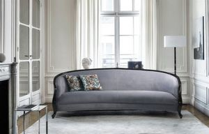 Allure, Sofa with curved lines