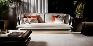 ALLURE sofa, Elegant two or three seater sofa