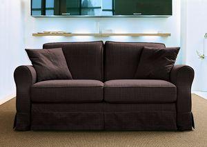 Aloa, Convertible sofa, classic contemporary style