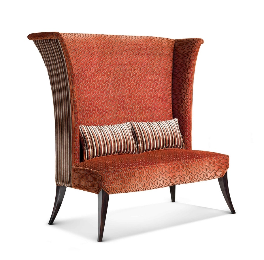ART. 3326/D, Sofa with high backrest