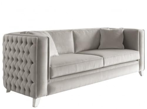 Art. VL913, Comfortable sofa with tufted backrest