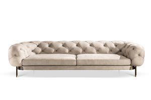 Aten� sofa, Tufted sofa with a regal and refined flavor