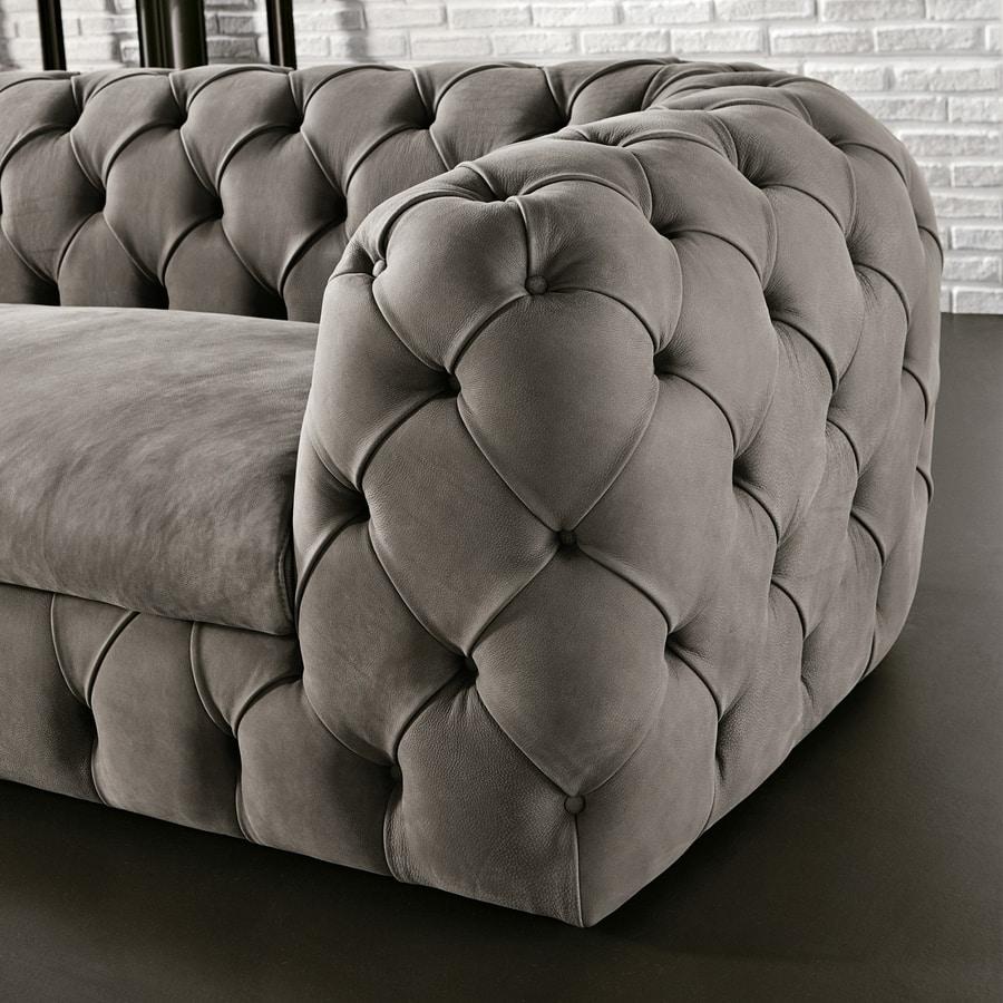Autografo, Sofa with capitonné padding