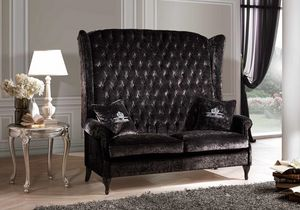 BERGER IMPERIALE, Bergere sofa with high backrest