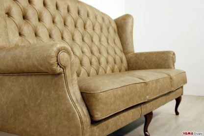 Bergere King sofa, Bergere sofa with high backrest