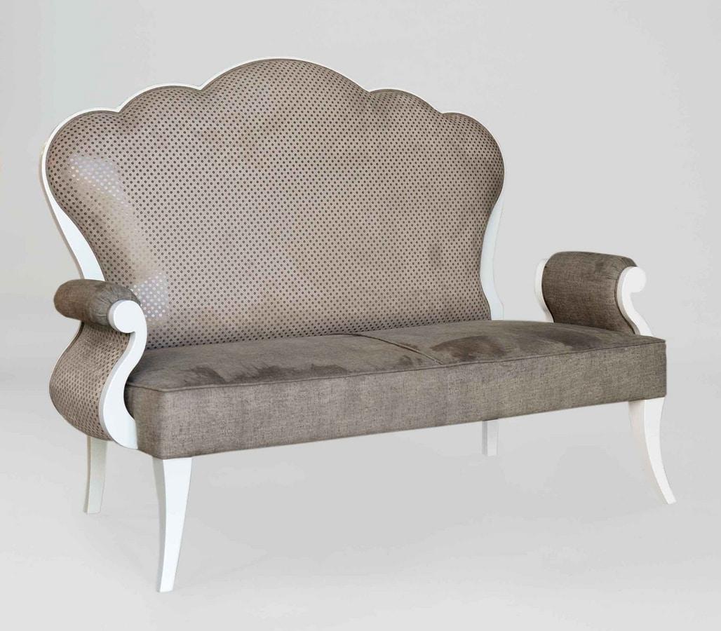 BS390L - Sofa, Classic style sofa