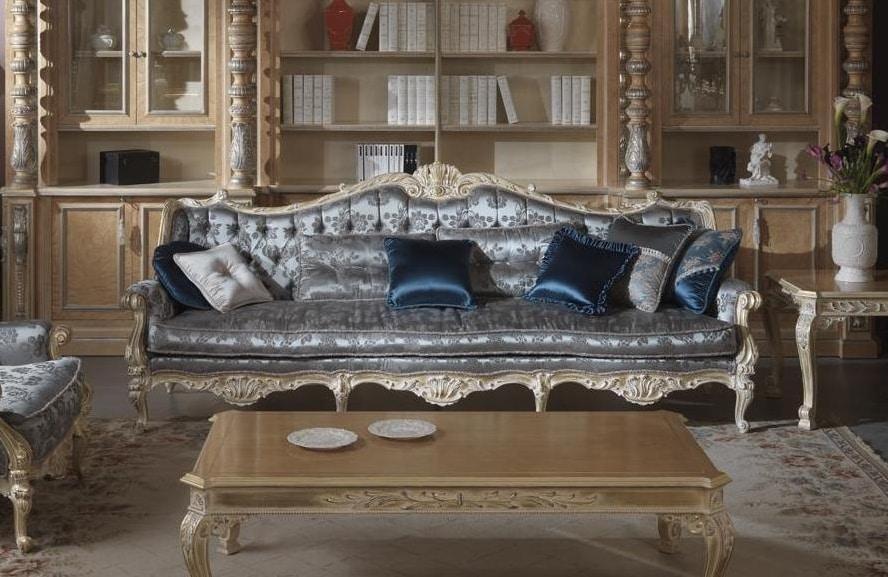 Cardinale sofa, Sofa for prestigious sitting rooms