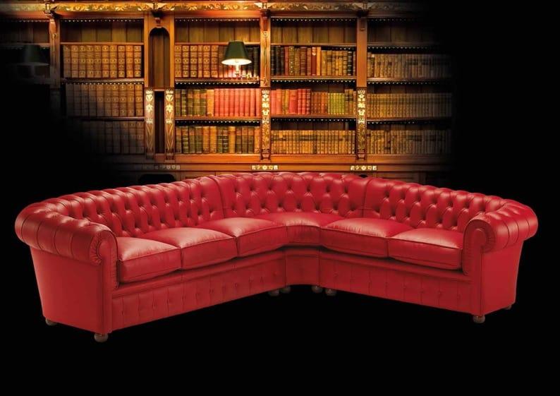 CHESTER modular, Modular sofa with tufted padding