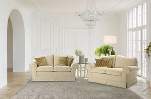 Costanza, 2-seater sofa with armrests