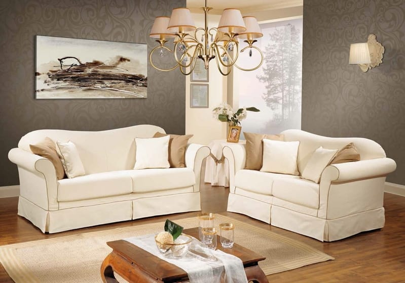 DESIRE', Classic sofa with removable cover