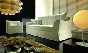 Dolcevita, Classic sofa with large and soft seats