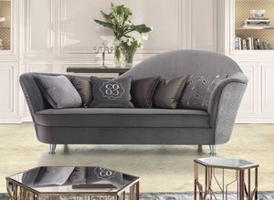 Elodie, Sofa with soft shapes