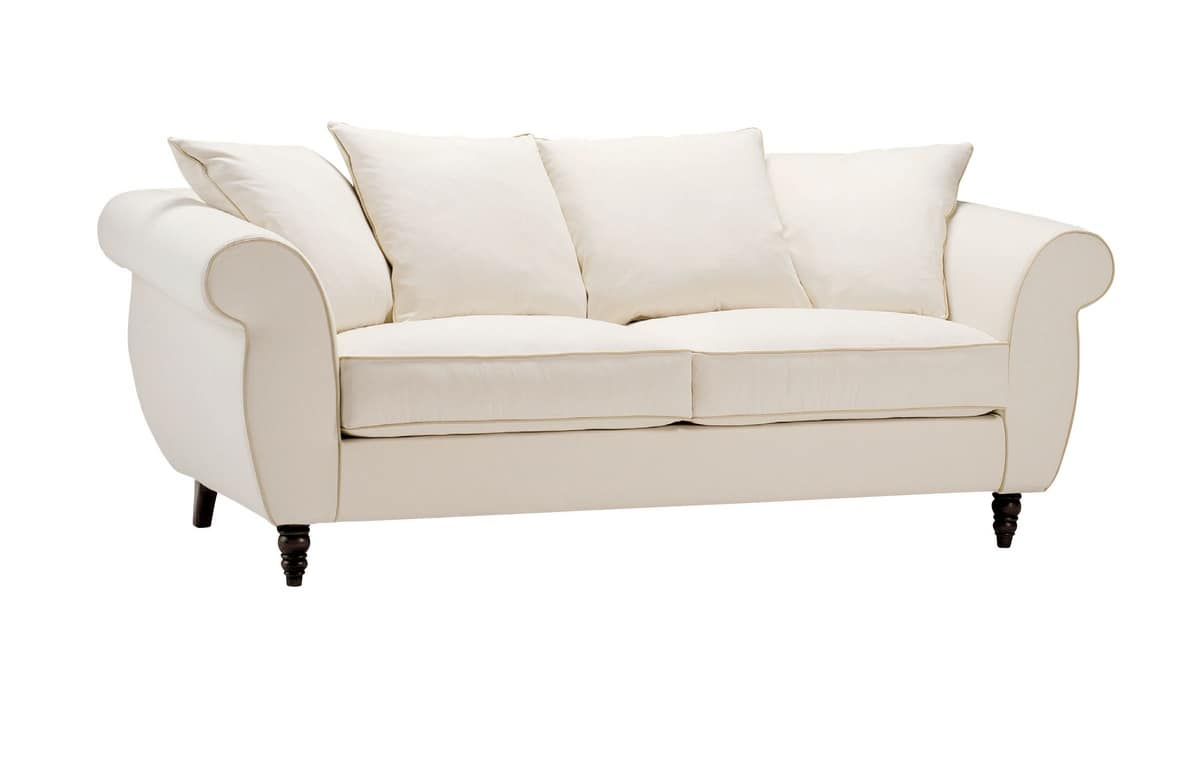 Ettore, Sofa for classic style living room