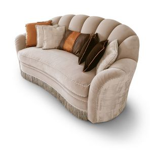 FLORA / sofa, Sofa with soft lines