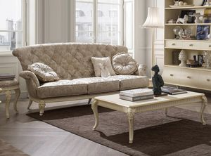 Florentia sofa, Classic three-seater sofa